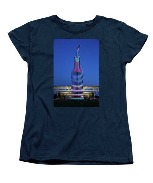 Women's T-Shirt (Standard Cut) featuring the photograph Pops by Lana Trussell
