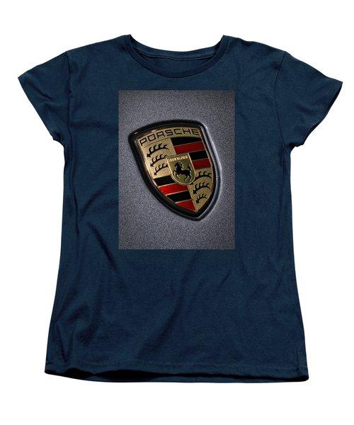 Porsche Women's T-Shirt (Standard Cut) by Gordon Dean II