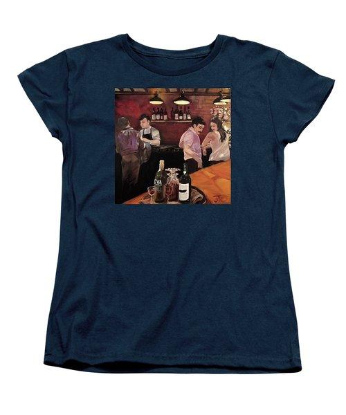 Port Bar Women's T-Shirt (Standard Cut) by Julie Todd-Cundiff