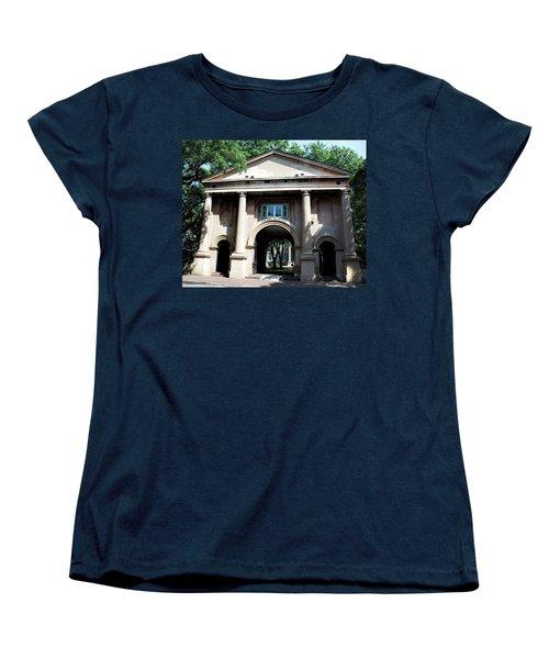 Porter's Lodge Women's T-Shirt (Standard Cut) by Ed Waldrop