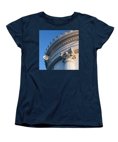 Women's T-Shirt (Standard Cut) featuring the photograph Portland Breakwater Light  -58750 by John Bald