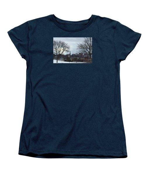 Portland, Maine, My City By The Bay Women's T-Shirt (Standard Cut) by Patricia E Sundik