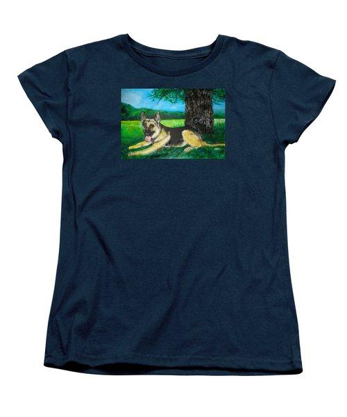 Portrait Of Edy Women's T-Shirt (Standard Cut) by Seth Weaver