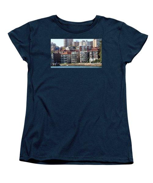 Women's T-Shirt (Standard Cut) featuring the photograph Posh Burbs by Stephen Mitchell