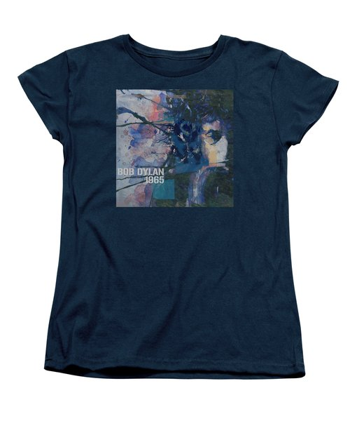 Positively 4th Street Women's T-Shirt (Standard Cut) by Paul Lovering