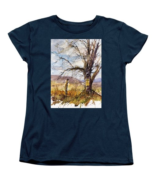 Posted Women's T-Shirt (Standard Cut) by Judith Levins