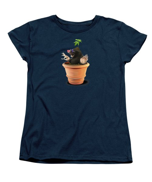 Women's T-Shirt (Standard Cut) featuring the drawing Pot Colour by Rob Snow