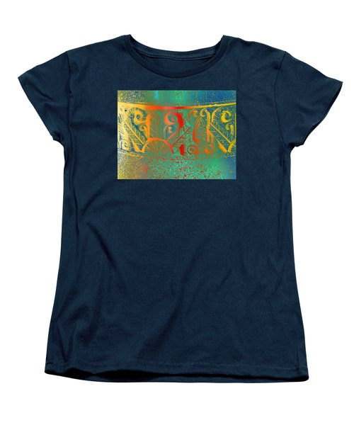 Pottery On The Street Women's T-Shirt (Standard Cut) by Lenore Senior
