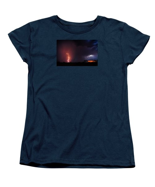 Pow Wow Dancer Women's T-Shirt (Standard Cut) by Rick Furmanek