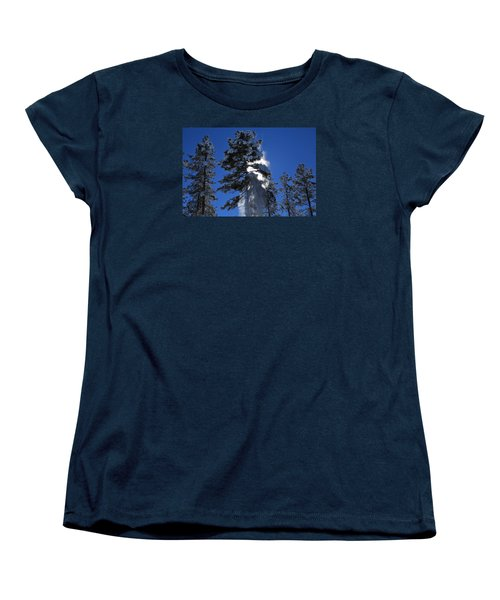 Powderfall Women's T-Shirt (Standard Cut) by Gary Kaylor