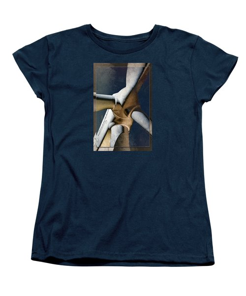 Women's T-Shirt (Standard Cut) featuring the photograph Power 3 by WB Johnston