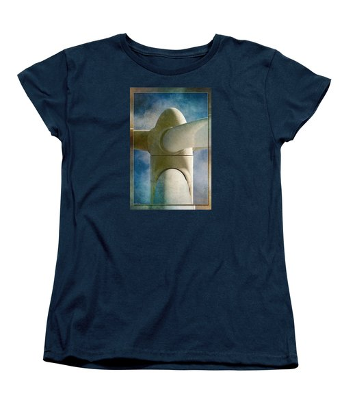 Women's T-Shirt (Standard Cut) featuring the photograph Power 7 by WB Johnston