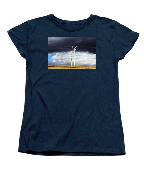 Power-full Women's T-Shirt (Standard Cut) by Alyce Taylor