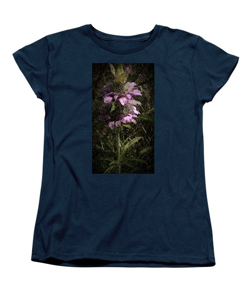 Prairie Weed Flower Women's T-Shirt (Standard Cut) by Donna G Smith