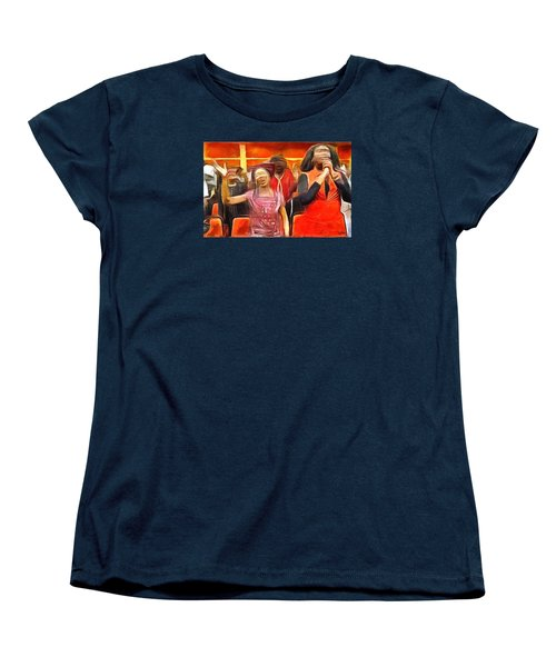 Women's T-Shirt (Standard Cut) featuring the painting Praise And Glory by Wayne Pascall