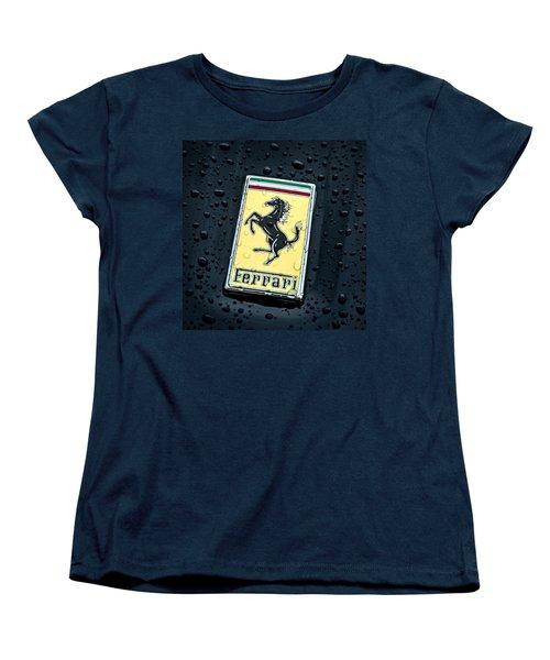 Women's T-Shirt (Standard Cut) featuring the digital art Prancing Stallion by Douglas Pittman