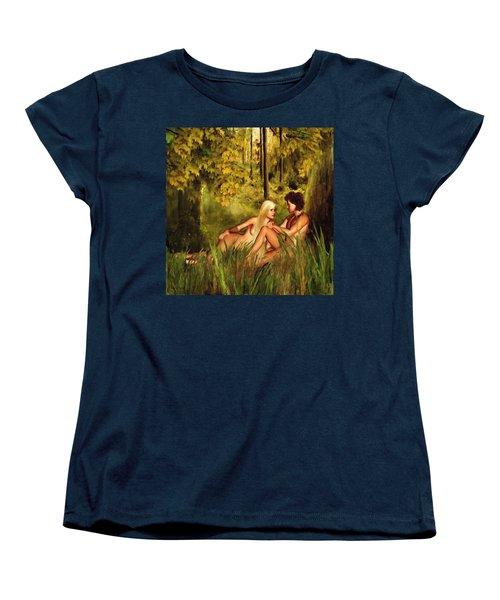 Pre-consciousness Women's T-Shirt (Standard Cut) by Lourry Legarde