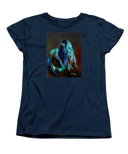 Pre In Blue Women's T-Shirt (Standard Cut)