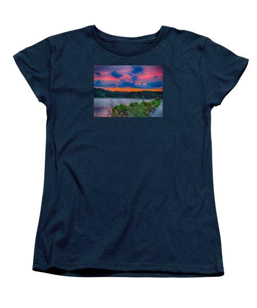Pre-sunset At Hbsp Women's T-Shirt (Standard Cut)