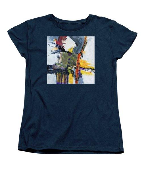 Precarious Women's T-Shirt (Standard Cut) by Ron Stephens