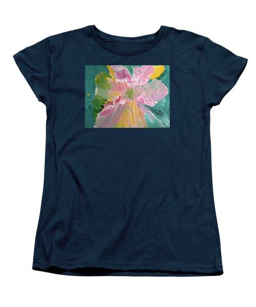 Pretty In Pastels Women's T-Shirt (Standard Cut) by Karen Nicholson