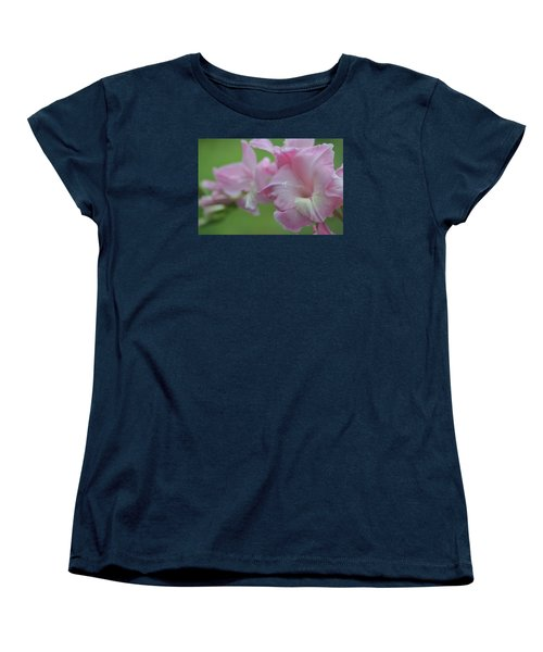 Pretty In Pink 2 Women's T-Shirt (Standard Cut) by Teresa Tilley