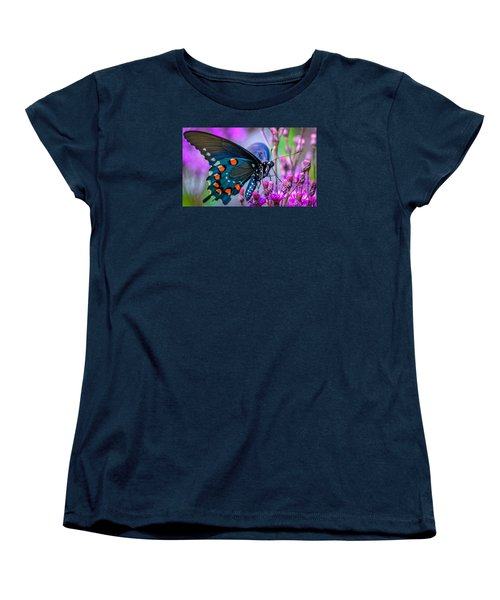 Women's T-Shirt (Standard Cut) featuring the photograph Pretty In Pink 4 by Brian Stevens