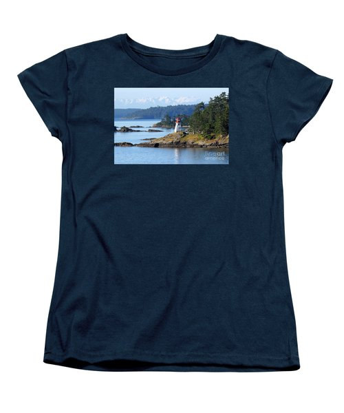 Prevost Island Lighthouse Women's T-Shirt (Standard Cut)