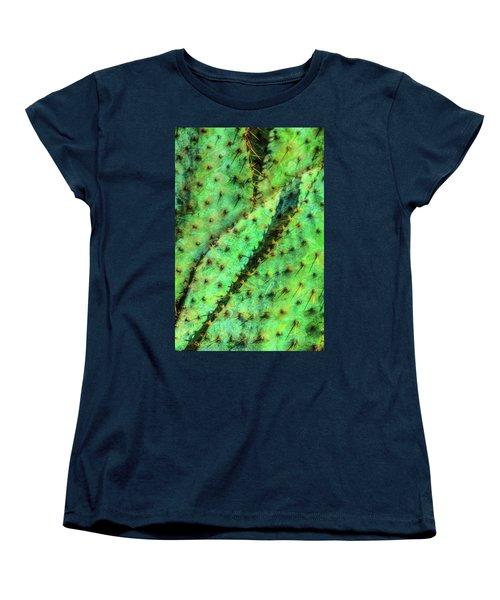 Women's T-Shirt (Standard Cut) featuring the photograph Prickly by Paul Wear