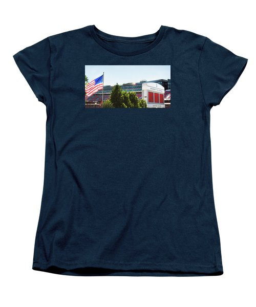 Women's T-Shirt (Standard Cut) featuring the photograph Pride Of Athens by Parker Cunningham