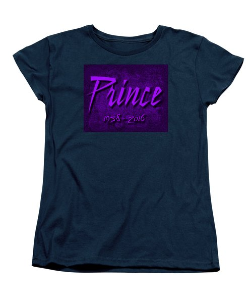 Prince Memorial Women's T-Shirt (Standard Cut)