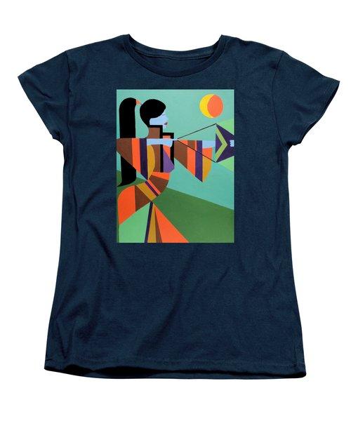 Princess Arrow Women's T-Shirt (Standard Cut) by Angelo Thomas