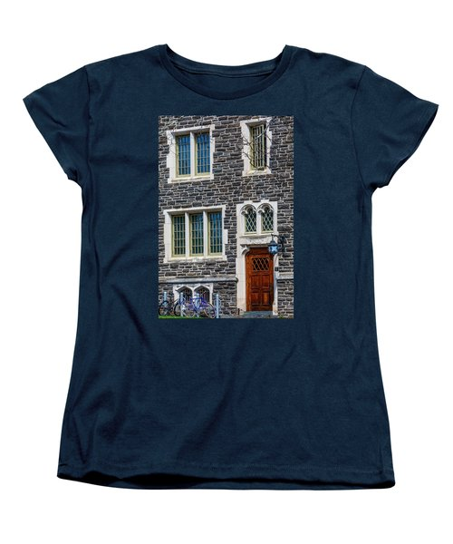 Women's T-Shirt (Standard Cut) featuring the photograph Princeton University Patton Hall No 9 by Susan Candelario