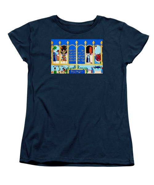 Women's T-Shirt (Standard Cut) featuring the painting Promised Land by Stephanie Moore