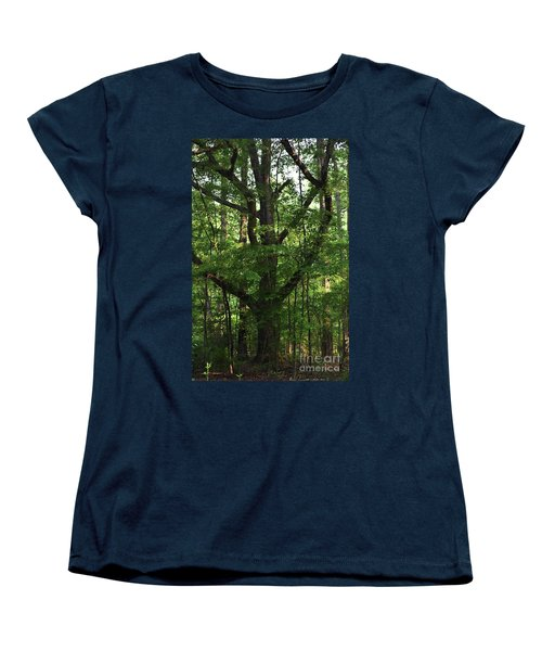 Women's T-Shirt (Standard Cut) featuring the photograph Protecting The Children by Skip Willits