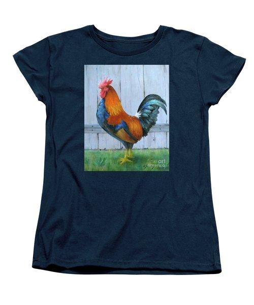 Proud Rooster Women's T-Shirt (Standard Cut)