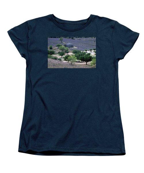 Provence Women's T-Shirt (Standard Cut) by Flavia Westerwelle