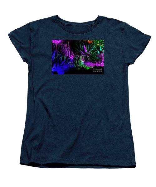 Psychedelia Women's T-Shirt (Standard Cut) by Kathy McClure