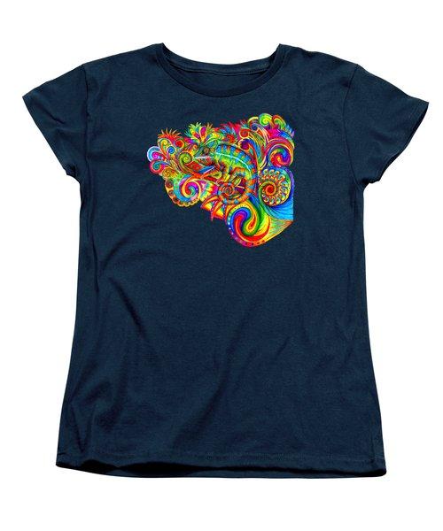 Psychedelizard Women's T-Shirt (Standard Cut)