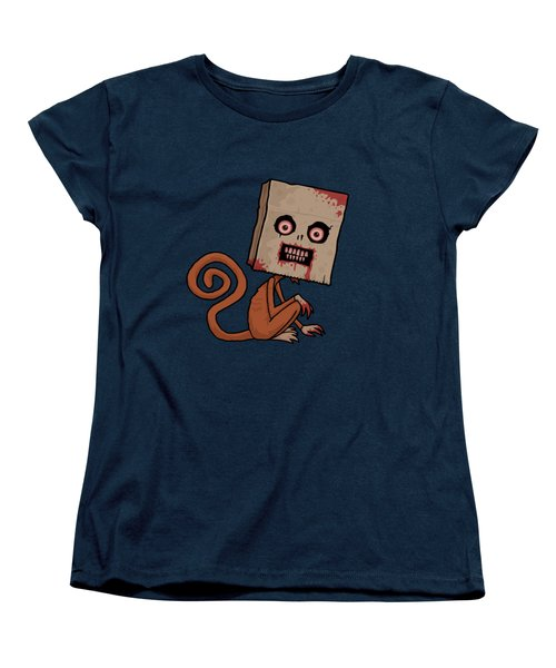 Psycho Sack Monkey Women's T-Shirt (Standard Cut)
