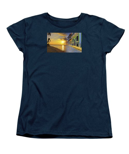 Puerto Rico Montage 1 Women's T-Shirt (Standard Cut) by Stephen Anderson