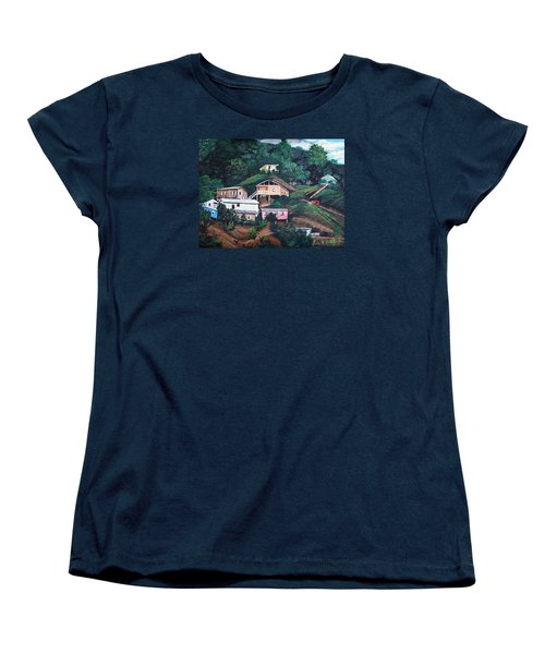 Puerto Rico Mountain View Women's T-Shirt (Standard Cut) by Luis F Rodriguez