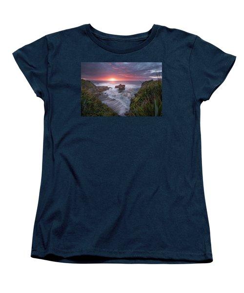Punakaiki Women's T-Shirt (Standard Cut) by Racheal Christian