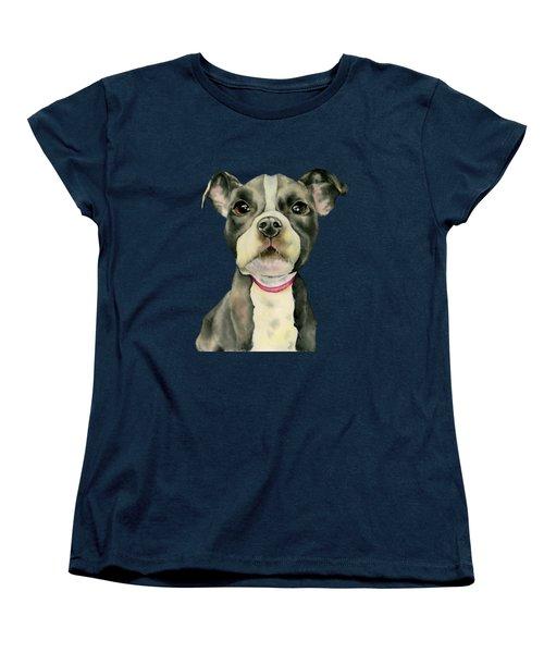 Puppy Eyes Women's T-Shirt (Standard Fit)