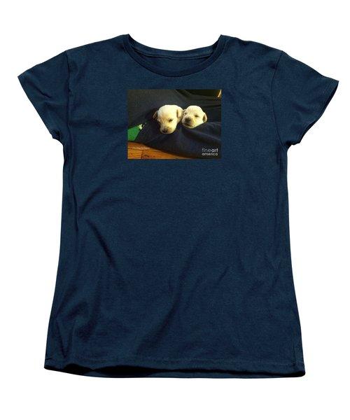 Puppy Love Women's T-Shirt (Standard Cut) by MaryLee Parker