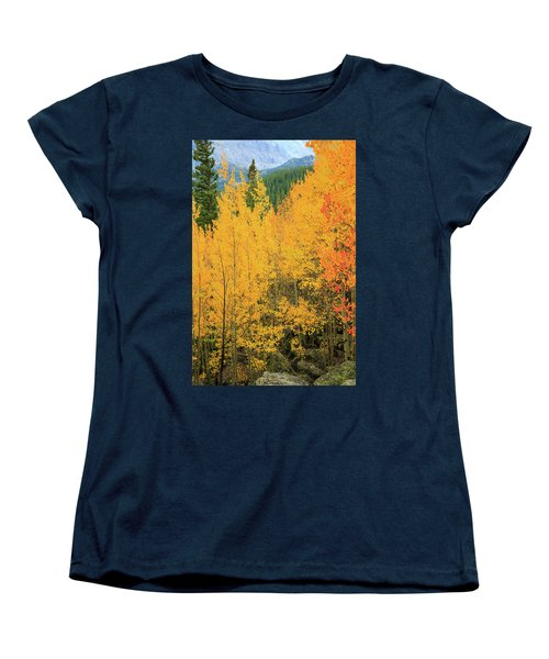 Women's T-Shirt (Standard Cut) featuring the photograph Pure Gold by David Chandler