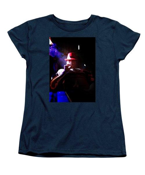 Purple Haze Boss  Women's T-Shirt (Standard Cut) by John Jr Gholson
