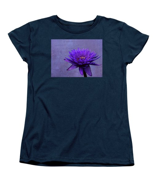 Women's T-Shirt (Standard Cut) featuring the photograph Purple Passion by Judy Vincent