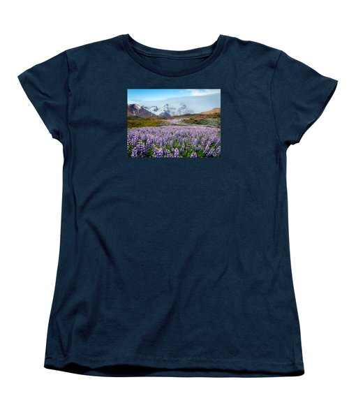 Purple Pathway Women's T-Shirt (Standard Cut) by William Beuther