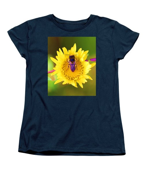 Women's T-Shirt (Standard Cut) featuring the photograph Purple Wings by John King